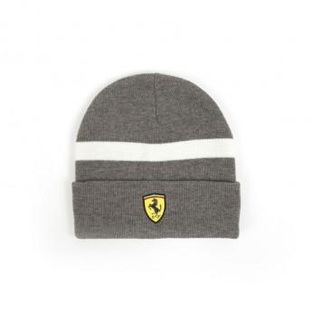 Ferrari zimní čepice grey Knitted F1 2018