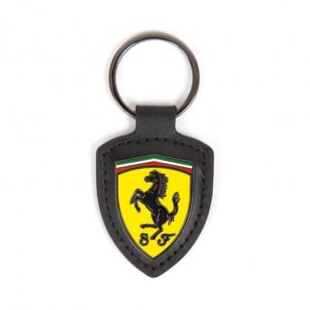 Ferrari přívěšek na klíče kožený Shield F1 Team 2018