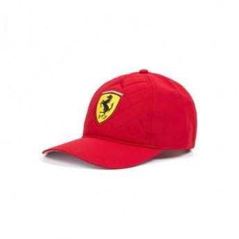 Ferrari čepice baseballová kšiltovka red Quilt F1 Team 2018