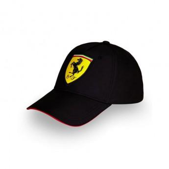 Ferrari čepice baseballová kšiltovka black F1 Team 2018