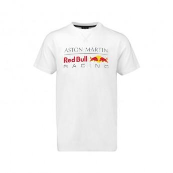Red Bull Racing pánské tričko Large Logo white 2018
