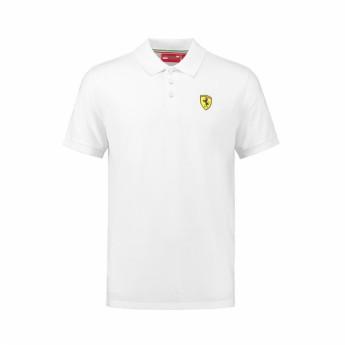 Ferrari pánské polo tričko Classic white F1 Team 2018