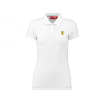 Ferrari dámské polo tričko Classic white F1 Team 2018