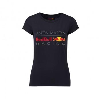 Red Bull Racing dámské tričko Large Logo dark blue 2018