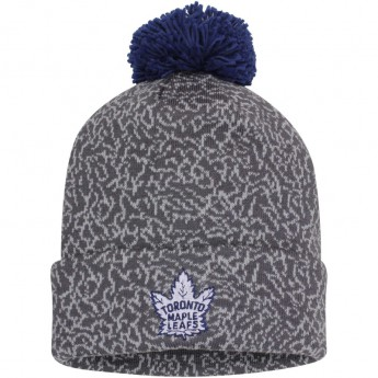 Toronto Maple Leafs Kulich Mitchell & Ness Vintage Crack Pattern Knit Hat