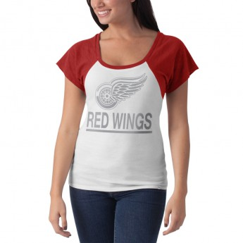 Detroit Red Wings dámské tričko Big Time Slim Fit Raglan T-Shirt