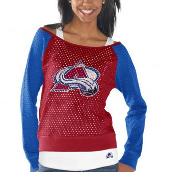 Colorado Avalanche Set dámských triček Holey Long Sleeve Top and Tank Top II Set