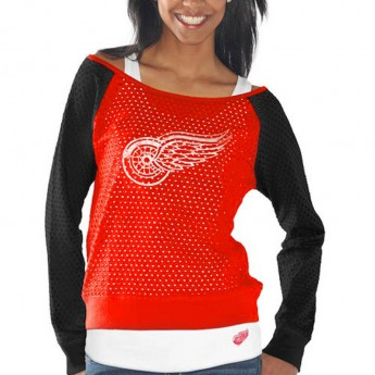 Detroit Red Wings Set dámských triček Holey Long Sleeve Top and Tank Top II Set