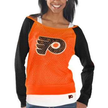 Philadelphia Flyers Set dámských triček Holey Long Sleeve Top and Tank Top II Set
