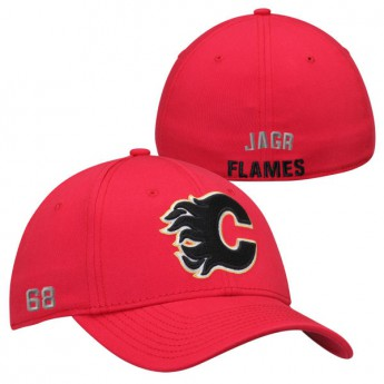 Calgary Flames Kšiltovka #68 Jaromir Jagr Name & Number Stretch Fit
