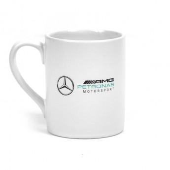 Mercedes AMG Petronas hrníček Logo white F1 2018