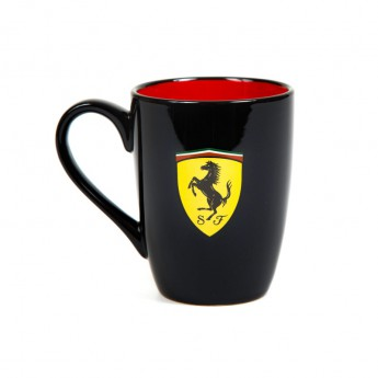 Ferrari hrníček Scudetto black F1 Team 2018