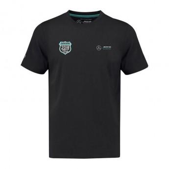 Mercedes AMG Petronas pánské tričko black Tour F1 Team 2018