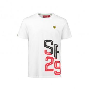 Scuderia Ferrari pánské tričko white SF 29 F1 Team 2018