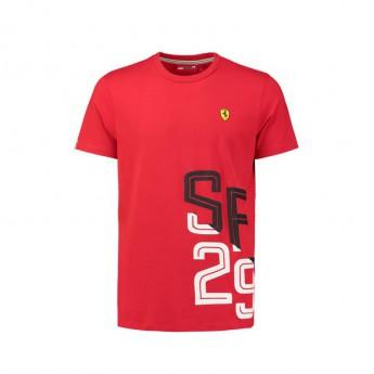 Scuderia Ferrari pánské tričko black SF 29 F1 Team 2018