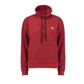 Ferrari dámská mikina Funnel Neck red F1 Team 2018