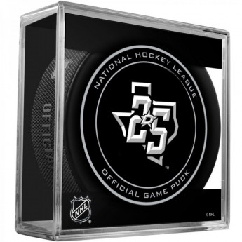 Dallas Stars puk Official Game Puck 25th Anniversary