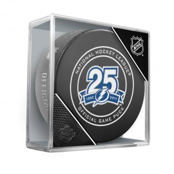 Tampa Bay Lightning puk Official Game Puck 25th Anniversary