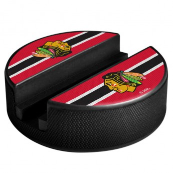 Chicago Blackhawks Držák na telefon Puck Media Holder