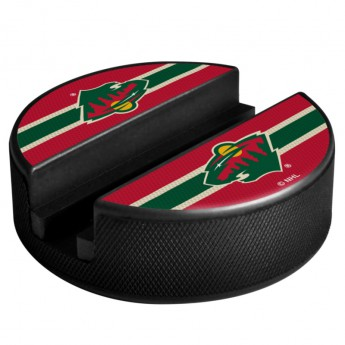 Minnesota Wild Držák na telefon Puck Media Holder