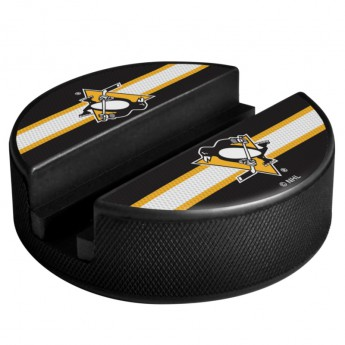 Pittsburgh Penguins Držák na telefon Puck Media Holder