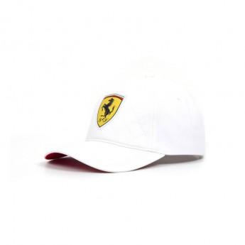 Ferrari čepice baseballová kšiltovka white Quilt F1 Team 2018