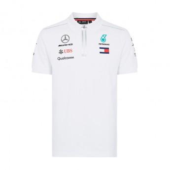 Mercedes AMG Petronas pánské polo tričko white F1 Team 2018
