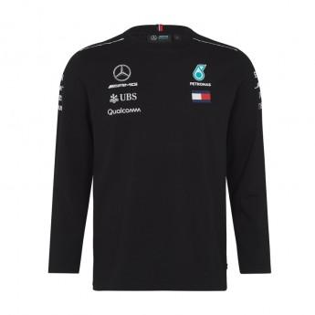 Mercedes AMG Petronas pánské tričko Longsleeve black F1 Team 2018