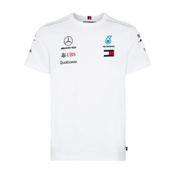 Mercedes AMG Petronas pánské tričko white F1 Team 2018