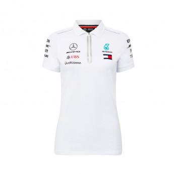 Mercedes AMG Petronas dámské polo tričko white F1 Team 2018