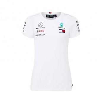 Mercedes AMG Petronas dámské tričko white F1 Team 2018