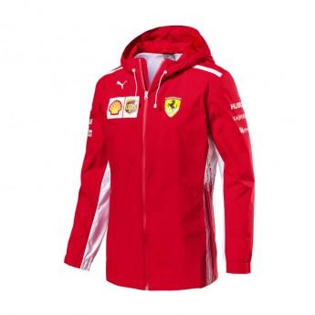 Ferrari pánská bunda s kapucí Rain red F1 Team 2018