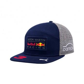 Red Bull Racing čepice flat kšiltovka Flat Ricciardo navy F1 Team 2018