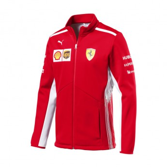 Puma Ferrari pánská bunda Softshell red F1 Team 2018