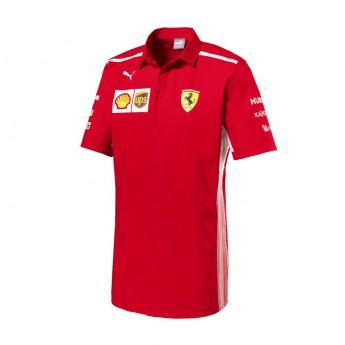 Puma Ferrari pánská košile red F1 Team 2018