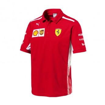 Puma Ferrari pánské polo tričko red F1 Team 2018