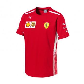 Puma Ferrari pánské tričko red F1 Team 2018