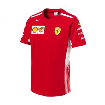 Puma Ferrari pánské tričko Sebastian Vettel red F1 Team 2018