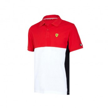 Scuderia Ferrari pánské polo tričko Cut and Sew red F1 Team 2018