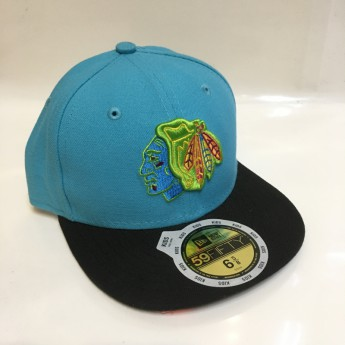 Chicago Blackhawks Dětská kšiltovka New Era 59Fifty Neon Crown
