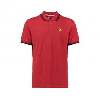 Ferrari pánské polo tričko Scuderia Collar red F1 Team 2018