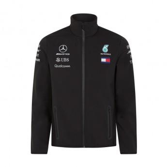 Mercedes AMG Petronas pánská bunda black Softshell F1 Team 2018