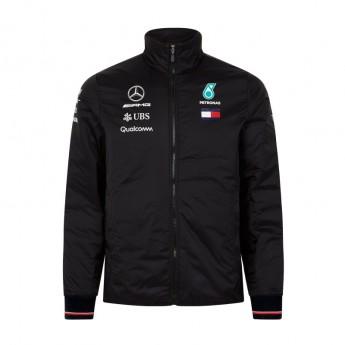 Mercedes AMG Petronas pánská bunda black Padded F1 Team 2018