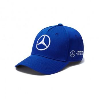 Mercedes AMG Petronas čepice baseballová kšiltovka Bottas blue F1 Team 2018