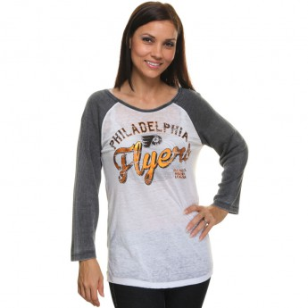 Philadelphia Flyers dámské tričko Relaxed Thermal Burnout Raglan