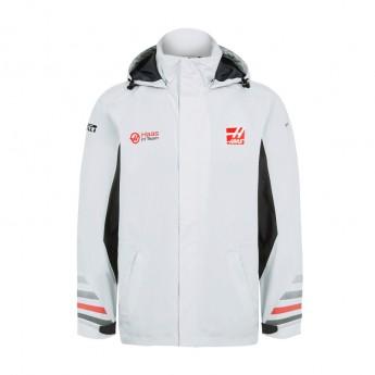 Haas F1 Team pánská bunda Rain grey 2018