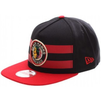 Chicago Blackhawks Kšiltovka Double Stripe Snapback