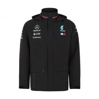 Mercedes AMG Petronas pánská bunda black Rain F1 Team 2018