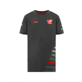 Haas F1 Team dětské tričko grey 2018