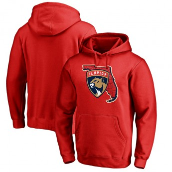 Florida Panthers pánská mikina s kapucí red Hometown Collection Pullover Hoodie